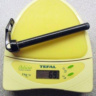 Gewicht Rock Shox Achse Maxle Lite 100 x 15mm