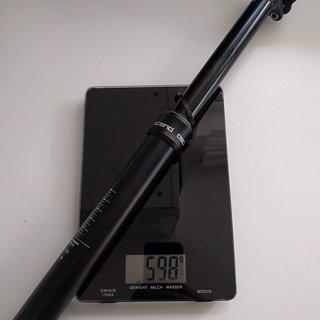 Gewicht Brand-X Sattelstütze höhenverstellbar Ascend XL 31,6 mm / 170 mm travel
