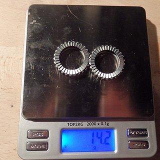 Gewicht DT Swiss Weiteres/Unsortiertes Zahnscheiben 36er 2x36 hohl