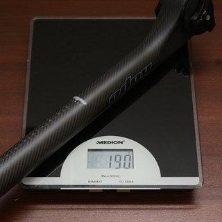 Gewicht Hope Sattelstütze Carbon 350 mm, 27,2 mm