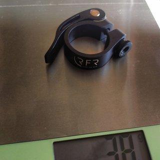 Gewicht RFR (Ready for Race) Sattelklemme Sattelklemme mit Schnellspanner 31.8
