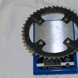 Gewicht Shimano Kettenblatt XTR FC-M970 104mm, 44Z