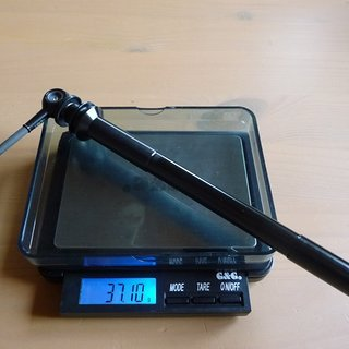 Gewicht Tune Achse DC 12 142 x 12mm