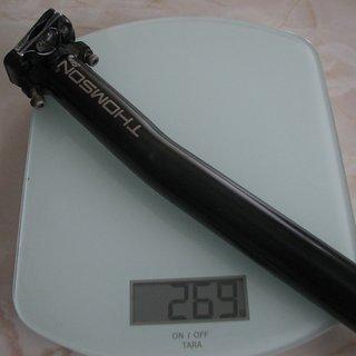 Gewicht Thomson Sattelstütze Elite 30,9 x 410mm