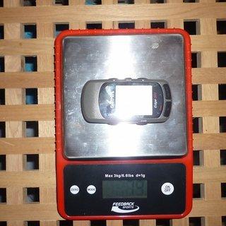 Gewicht Garmin GPS Edge 305