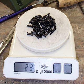 Gewicht CN Spoke Speichennippel AN14 64x, 2mm, 14mm