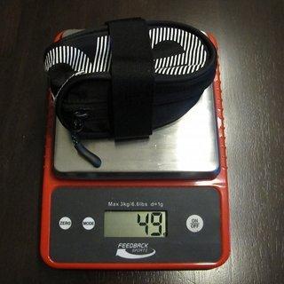 Gewicht Evoc Alles andere SADDLE BAG RACE 12 cm x 4,5 cm x 6 cm / 0,3l
