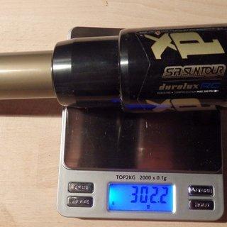 Gewicht Suntour Dämpfer Durolux RC 222 x 70mm