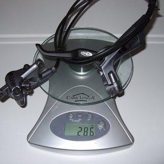 Gewicht Avid Scheibenbremse Elixir 3 HR, 1450mm