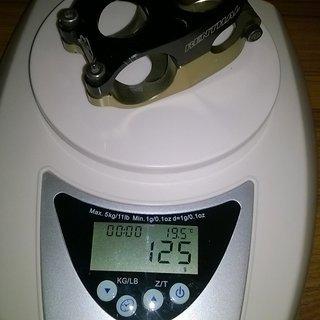Gewicht Renthal Vorbau Duo Stem 31,8mm, 40mm, 10°