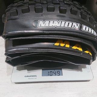 Gewicht Maxxis Reifen Minion DHF+ TR EXO+ 3C MaxxTerra 27,5 x 2,80