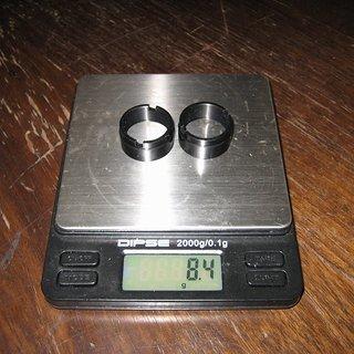 Gewicht Mavic Weiteres/Unsortiertes Adapter 20x110mm VR, 110mm/20
