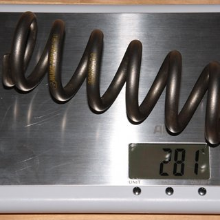 "Gewicht Nukeproof Feder Shockwave Ti 300 x 3.0"""