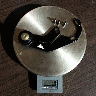 Gewicht Canyon Kettenführung Chainguide 36Z, ISCG-05