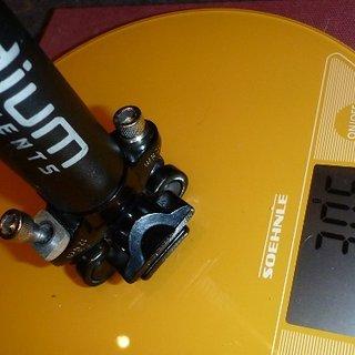 Gewicht Canyon Sattelstütze Iridium 27,2 x 350mm