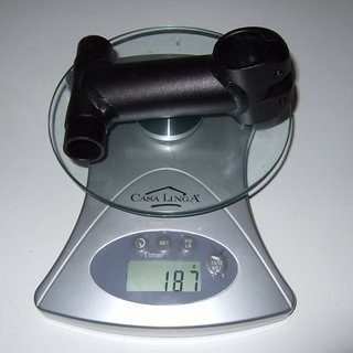 Gewicht Syntace Vorbau VRO T-Stem Eco 25.4mm, 85-135mm, 6°