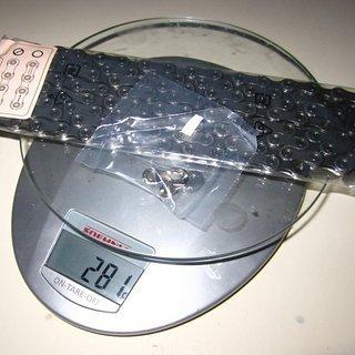 Gewicht Shimano Kette XT CN-M8100 126 Glieder