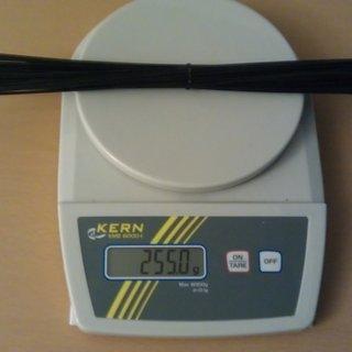 Gewicht DT Swiss Speiche Champion 284mm, 36 Stück