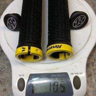 Gewicht Reverse Components Griffe Stamp 30mm