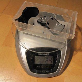 Gewicht Shimano Schaltanzeige XT SL-M770-9 Paar 3x9