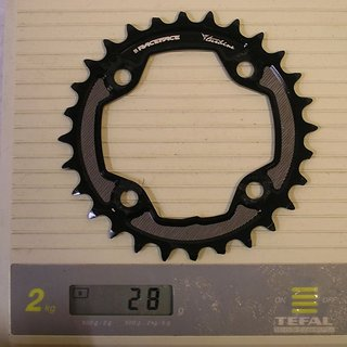 Gewicht Race Face Kettenblatt Turbine 80mm, 28Z