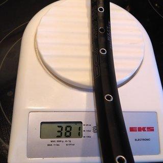 """Gewicht BOR Felge XMD366 29er 29"""" / 622x21 / 32 Loch"""