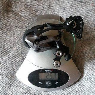Gewicht Shimano Schaltwerk Alivio RD-M4000 SGS Long Cage