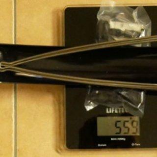 "Gewicht Procraft Alles andere Schutzblech Rainbow 26 Zoll Schutzblech-Set VR+HR 60mm 60mm / 26"""