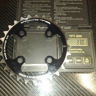 Gewicht Specialites TA Kettenblatt Chinook 64mm, 28Z