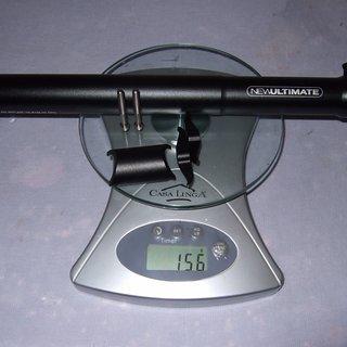 Gewicht New Ultimate Sattelstütze Sattelstütze (Alu) 31,6 x 350mm
