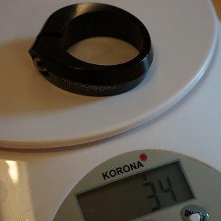 Gewicht Thomson Sattelklemme SC-E105 36,4 mm