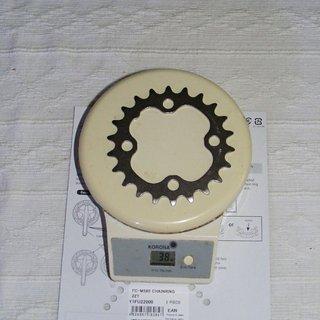 Gewicht Shimano Kettenblatt LX FC-M580 64mm, 22Z