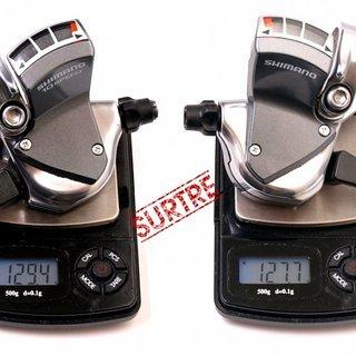 Gewicht Shimano Schalthebel SL-R770 3x9-fach