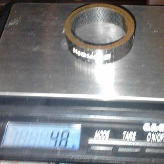 Gewicht Bianchi Spacer Componenti 1⅛'', 10mm