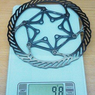 Gewicht Avid Bremsscheibe CleanSweep X 160mm
