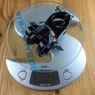 Gewicht Acros Vorbau Popular Stem 35 mm, 50 mm, 0°