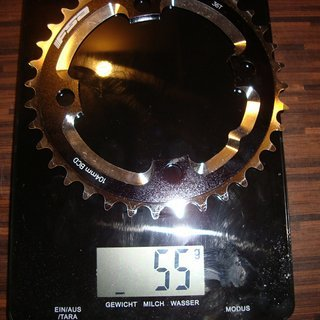 Gewicht FSA Kettenblatt DH/Singlespeed 104mm, 36Z