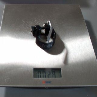 Gewicht Tune Sattelklemme Würger (QR) 34,9mm