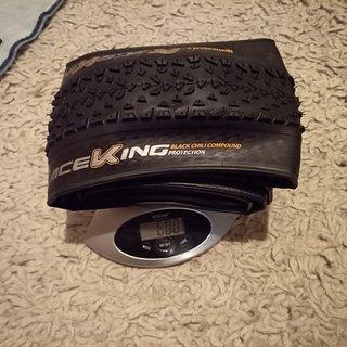 Gewicht Continental Reifen Race King Protection 29 x 2,2