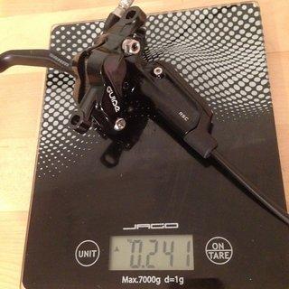 Gewicht SRAM Scheibenbremse Guide RSC VR