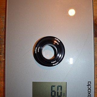 Gewicht Hope Steuersatz Stepdown Low Stack Oberteil ZS49/28,6