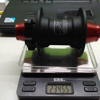Gewicht Atomlab Nabe Pimp 110mm/20 32-Loch