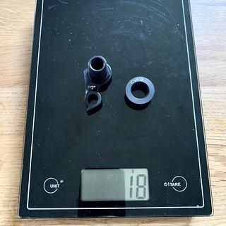 Gewicht Cervélo Weiteres/Unsortiertes Schaltauge CVR18