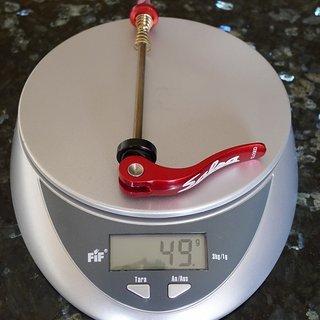 Gewicht Salsa Schnellspanner Flip-Off Edelstahl 100mm