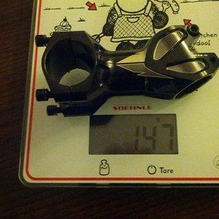 Gewicht Hope Vorbau XC/FR Stem 31.8mm, 70mm, 25°