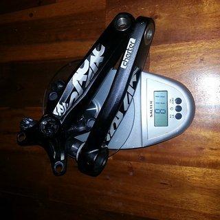 Gewicht Race Face Kurbel Chester 170 mm