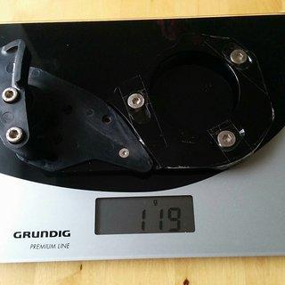 Gewicht e-thirteen Kettenführung DRS ISCG05