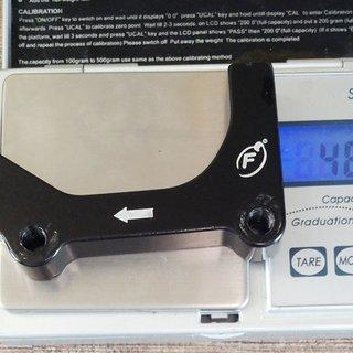 Gewicht Formula Scheibenbremsadapter FD40146-10 IS >>> PM +63