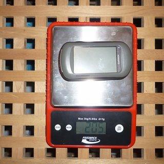 Gewicht Garmin GPS Oregon 550