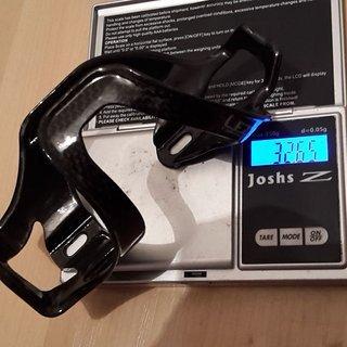 Gewicht Lezyne Flaschenhalter Carbon Cage SL Left